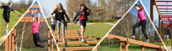 Wooden fitness